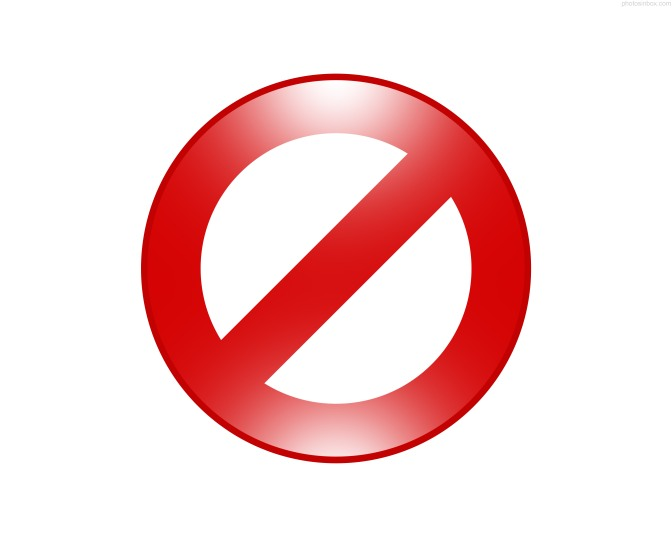 red-forbidden-sign