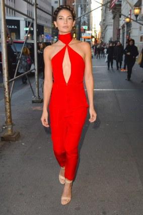 Celebrity Sightings In New York City - December 03, 2015
