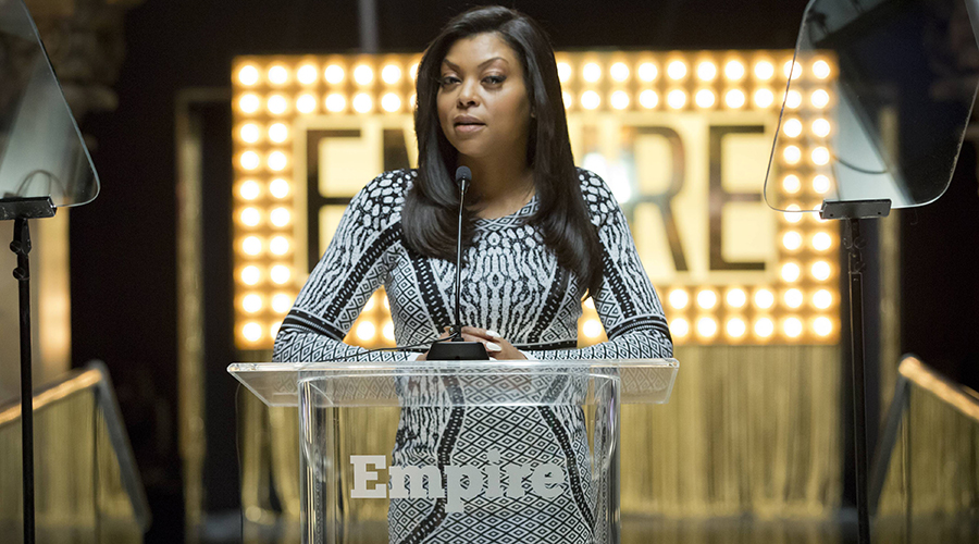 "EMPIRE: Cookie (Taraji P. Henson) leads a showcase in the ""Our Dancing Days"" episode airing Wednesday, Feb. 18 (9:01-10:00 PM ET/PT) on FOX. ©2014 Fox Broadcasting Co. CR: Chuck Hodes/FOX"